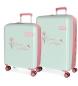 Juego de maletas Enso Owls 55-70cm -38L y 81L-