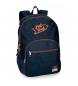 Mochila 44cm doble compartimento adaptable a carro Monsters -30,5x44x15cm-