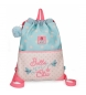 Mochila saco Belle and Chic -35x46x0.5cm-