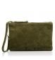 Compar Firenze Artegiani Leather handbag Azelia Model Camoscio finish
