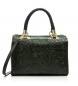 Compar Firenze Artegiani Leather bag Model Catena Camoscio Lacquered