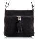 Comprar Firenze Artegiani Eligia leather bag with zip closure Camoscio finish