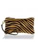 Modelo Mattarello en piel de potro animal print tigre