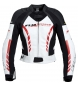 Chaqueta de cuero FLM Sports Ladies 3.0 negro / blanco
