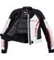 Comprar FLM Giacca in pelle FLM Sports Ladies 3.0 nero / bianco