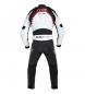 Comprar FLM Blouson en cuir FLM Sports Ladies 3.0 noir / blanc