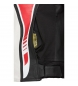 Comprar FLM Giacca in pelle FLM Sports Kombi 2.1 nero / bianco / rosso