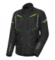 Chaqueta textil Flm Touren 2.0 negro / verde fluo