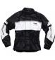 Flm sports membrana chaqueta de lluvia 1.0 blanco