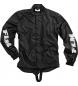 Flm sports stretch chaqueta de lluvia 1.0 negro