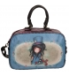 Bolso de viaje Gorjuss The Hatter adaptable a trolley -37x25x15cm-
