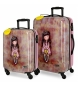 Comprar Gorjuss Set of suitcases 33L-64L The Secret rigid -37x55x20cm / 45x67x26cm