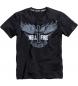 Camiseta de hombre Hellfire ride negra