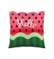 Comprar Iceberg CUSHION FULL WITH WATERMELON ZIPPER 50x50 cm. ICEBERG