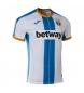 1ª Camiseta Leganes azul, blanco
