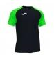 Compar Joma  T-shirt manica corta Academy IV nera, verde fluo
