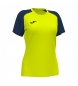 Compar Joma  Academy IV Short Sleeve T-Shirt fluoro yellow, navy