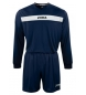 SET ACADEMY MARN-BCO JERSEY M/L+SHORT
