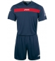 Compar Joma  SET ACADEMY MARN-RED JERSEY M / C + SHORT