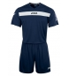 SET ACADEMY MARN-BCO JERSEY M/C+SHORT