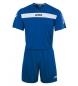 Compar Joma  ACADEMY S/S SET (SHIRT+SHORT) ROYAL-WHITE
