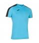 Compar Joma  T-shirt turquesa com flúor da Academia