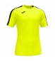 Camiseta Academy amarillo fluor, negro