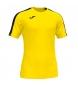 Camiseta Academy amarillo, negro