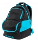 Compar Joma  Backpack Diamond II black-turquoise fluor blue
