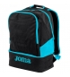 Compar Joma  Stadium III backpack black, turquoise