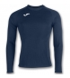 BRAMA FLEECE SHIRT NAVY L/S
