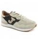 Zapatillas de piel C.367 LADY 824 beige