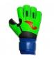 Guantes Portero Calcio verde fluor, azul, negro