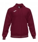 Compar Joma  Burgundy Campus III Hooded Jacket