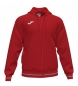 Compar Joma  Campus III Hooded Jacket red