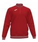 Compar Joma  Sweatshirt 1/2 zip Campus III vermelho