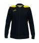 Compar Joma  Jacket Championship VI Full Zip black, yellow