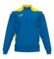 Sudadera Championship VI azul, amarillo