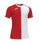 Camiseta City Rojo, blanco