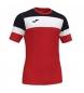 Compar Joma  Camiseta Crew IV Algodón negro, rojo