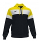Compar Joma  Jacket Hooded Crew IV black, yellow