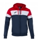 Compar Joma  Hooded Jacket Crew IV navy, red