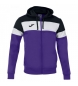 Compar Joma  Jacket Hooded Crew IV lilac, black