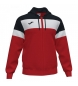 Compar Joma  Jacket Hooded Crew IV Red, Navy