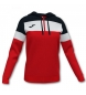 Compar Joma  Crew Hooded Jacket red, black