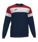 Compar Joma  Crew IV sweatshirt red, navy