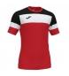 Compar Joma  T-shirt de l'équipage IV rouge, noir
