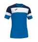 Compar Joma  T-shirt Crew IV bleu, noir