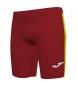 Shorts Elite VII Tight rojo, amarillo