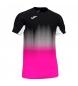 Camiseta Elite VII negro, rosa